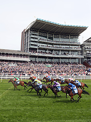 Signora Cabello ridden by Jason Hart (left) wins the Langleys Solicitors British EBF Marygate Fillies' Stakes during day three of the 2018 Dante Festival at York Racecourse.