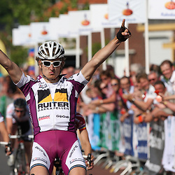 Wouter Haan (Ruiter Dakkapellen) wint in Rijssen de 59e ronde van Overijssel