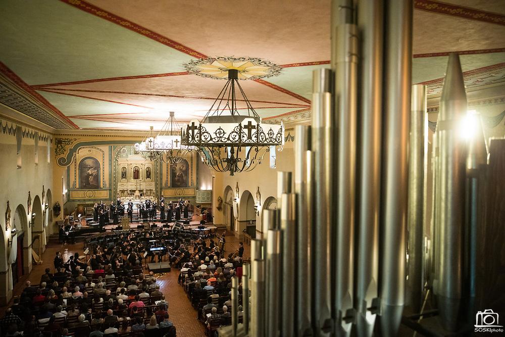 SCU Presents FUSION performed at the Mission Church at Santa Clara University in Santa Clara, California, on June 7, 2019. (Stan Olszewski/SOSKIphoto)