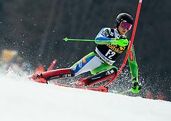 Forerunner Anze Gartner of Slovenia during Audi FIS Alpine Ski World Cup Men's Slalom 58th Vitranc Cup 2019 on March 10, 2019 in Podkoren, Kranjska Gora, Slovenia. Photo by Matic Ritonja / Sportida