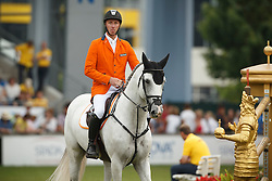 Vrieling Jur, (NED), VDL Zirocco Blue<br /> Individual Final Competition<br /> FEI European Championships - Aachen 2015<br /> © Hippo Foto - Dirk Caremans<br /> 23/08/15
