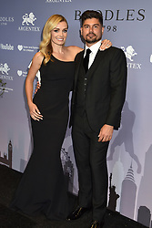 Katherine Jenkins and Andrew Levitas at the Boodles Boxing Ball, in association with Argentex and YouTube in Support of Hope and Homes for Children at Old Billingsgate London, United Kingdom - 7 Jun 2019 Photo Dominic O'Neil