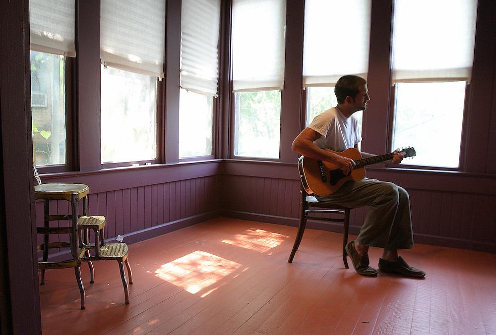 J.T. Van Zandt, son of musician Townes Van Zandt, will play the Austin City Limits Music Festival on September 19..9/06/2003.Alex Jones/for American-Statesman