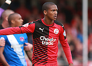 Crawley Town defender Lewis Young during the Sky Bet League 2 match between Crawley Town and Leyton Orient at the Checkatrade.com Stadium, Crawley, England on 10 October 2015. Photo by Bennett Dean.