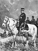 Prince Iwao Oyama (1842-1916) Japanese soldier.  Commander-in-Chief of Japanese forces during Russo-Japanese War 1904-1905.