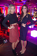NO FEE PICTURES<br /> 31/12/15 Sara Kavanagh and Nadia Forde, enjoying the NYF 3Arena Celebrations, part of the New Years Festival in Dublin. nyf.com running from 30th Dec to 1st Jan in Dublin. Picture: Arthur Carron