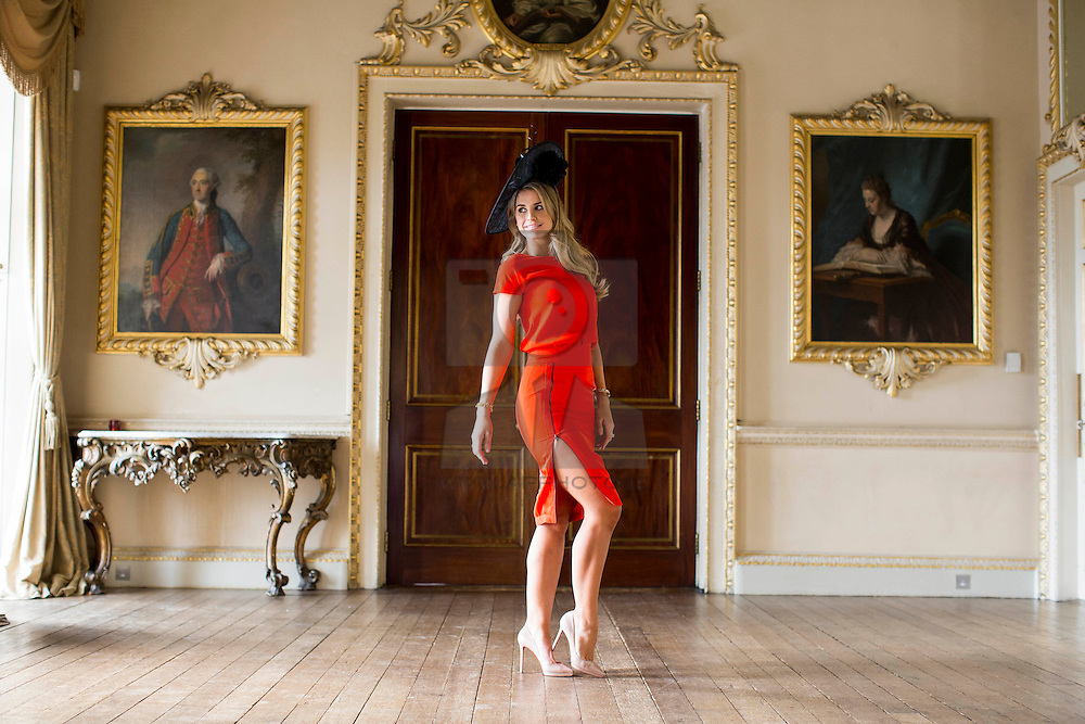 Repro FRee:02:03:2015 DJ, model and style queen Vogue Williams was announced as judge for the Carton House Most Stylish lady competition which takes place at the Boylesports Irish Grand National at Fairyhouse racecourse, this Easter Monday 6th April 2015.<br /> <br /> Elegantly Irish is the theme of this year's Carton House Most Stylish Lady competition and Vogue will be looking for a winning look that incorporates and showcases Irish style at its best. <br /> <br /> The Carton House Most Stylish Lady winner will win an €8,000 prize package from Carton House. Ladies hoping to vie for the title can register at the Carton House Most Stylish Lady marquee beside the parade ring in Fairyhouse, from 12 noon on Easter Monday, 6th April 2015. Picture Andres Poveda