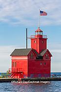 64795-03015 Holland Lighthouse (Big Red) on Lake Michigan Holland, MI