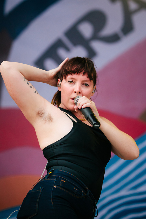 Sylvan Esso at the 2017 Travelers' Rest Festival in Missoula, MT.
