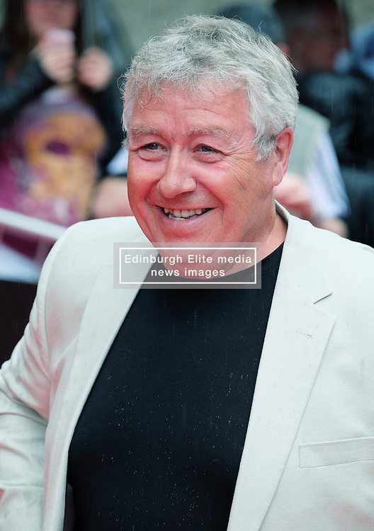 """Edinburgh International Film Festival, Sunday 26th June 2016<br /> <br /> Stars turn up on the closing night gala red carpet for the World Premiere of """"Whisky Galore!""""  at the Edinburgh International Film Festival 2016<br /> <br /> Gregor Fisher, who plays Macroon in the film.<br /> <br /> (c) Alex Todd 