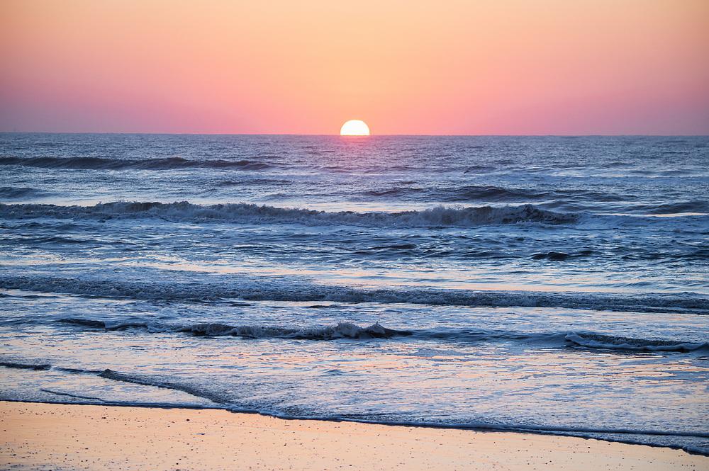 Matagorda Sunrise, Matagorda Bay Nature Park, Texas Gulf Coast