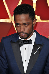 Lakeith Stanfield walking on the red carpet during the 90th Academy Awards ceremony, presented by the Academy of Motion Picture Arts and Sciences, held at the Dolby Theatre in Hollywood, California on March 4, 2018. (Photo by Sthanlee Mirador/Sipa USA)