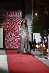 LOS ANGELES, CA - JUNE 16: Myrka Dellanos arrives for GLAUDI Rooftop Fashion Show featuring the 2017 #GirlPower Collection by GLAUDI and the 2017 GLAUDI Bridal Collection at the W Hollywood Hotel Rooftop on June 16, 2017. Byline, credit, TV usage, web usage or linkback must read SILVEXPHOTO.COM. Failure to byline correctly will incur double the agreed fee. Tel: +1 714 504 6870.