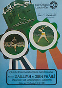 All Ireland Senior Hurling Championship - Final,.Galway v Offaly, .06.09.1981, 09.06.1981, 6th September 1981,.Offaly 2-12, Galway 0-15,.06091981AISHCF,.
