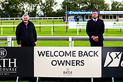 Bath Racecourse welcome back owners after Horse Racing comes back after the Covid-19 pandemic - Mandatory by-line: Dougie Allward/JMP - 10/07/2020 - HORSE RACING - Bath Racecourse - Bath, England - Bath Races