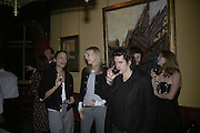Leena Similu, Kim Hersov and Nick Hackworth, Party for Jean Pigozzi hosted by Ivor Braka to thank him for the loan exhibition 'Popular Painting' from Kinshasa'  at Tate Modern. Cadogan sq. London. 29 May 2007.  -DO NOT ARCHIVE-© Copyright Photograph by Dafydd Jones. 248 Clapham Rd. London SW9 0PZ. Tel 0207 820 0771. www.dafjones.com.