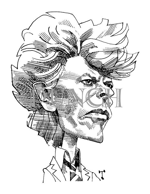 (Portrait of David Bowie)