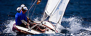Spring Tide sailing in the Windward Race at the Antigua Classic Yacht Regatta.
