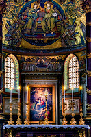 """The high altar of the Papal Basilica of Santa Maria Maggiore in Rome""...<br />