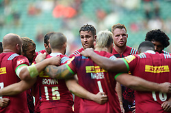 James Horwill of Harlequins speaks to his team-mates after the match - Mandatory byline: Patrick Khachfe/JMP - 07966 386802 - 02/09/2017 - RUGBY UNION - Twickenham Stadium - London, England - London Irish v Harlequins - Aviva Premiership