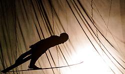 01.01.2014, Olympiaschanze, Garmisch Partenkirchen, GER, FIS Ski Sprung Weltcup, 62. Vierschanzentournee, Probesprung, im Bild Tomaz Naglic (SLO)   // Tomaz Naglic (SLO) during Trial Jump of 62nd Four Hills Tournament of FIS Ski Jumping World Cup at the Olympiaschanze, Garmisch Partenkirchen, Germany on 2014/01/01. EXPA Pictures © 2014, PhotoCredit: EXPA/ JFK