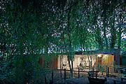 garden gym garage london wood england uk
