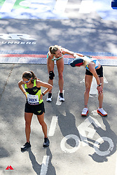 Des Linden, Ellie Pashley, Kellyn Taylor<br /> TCS New York City Marathon 2019