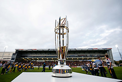 Greene King IPA Championship winners trophy - Photo mandatory by-line: Rogan Thomson/JMP - 07966 386802 - 27/05/2015 - SPORT - Rugby Union - Worcester, England - Sixways Stadium - Worcester Warriors v Bristol Rugby - Greene King IPA Championship Play-Off Final 2nd Leg.