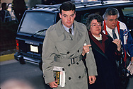 John Bobbitt arrives at the  Lorena Bobbit Trial<br />Photo by Dennis Brack