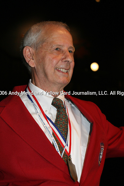 28 August 2006: Hall of Famer George Brown. The National Soccer Hall of Fame Induction Ceremony was held at the National Soccer Hall of Fame in Oneonta, New York.
