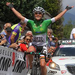 13-07-2014: Wielrennen: Giro d Italia vrouwen: Italie: Emma Pooley wins her 3th stage