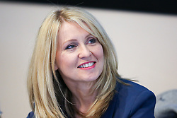 "© Licensed to London News Pictures. 10/06/2019. London, UK. Esther McVey MP, candidate for the leadership of the Conservative Party and to become Prime Minister at the Bruges Group's ""Brexit Leadership"" event in Westminster. The Bruges Group is a think tank based in the UK, it advocates for a restructuring of Britain's relationship with the European Union and other European countries. Photo credit: Dinendra Haria/LNP"