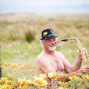 paul sax in flowers
