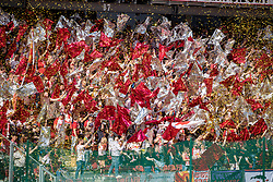 01.05.2019, Woerthersee Stadion, Klagenfurt, AUT, OeFB Uniqa Cup, FC Red Bull Salzburg vs SK Rapid Wien, Finale, im Bild Choreographie der FC Red Bull Salzburg Fans // during the Final match of the ÖFB Uniqa Cup between FC Red Bull Salzburg and SK Rapid Wien at the Woerthersee Stadion in Klagenfurt, Austria on 2019/05/01. EXPA Pictures © 2019, PhotoCredit: EXPA/ Johann Groder