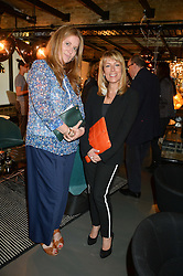 Left to right, DAISY DONOVAN and FAY RIPLEY at Fork to Fork - a Fundraising Feast to support The Open Air Classroom Project held at The Dock Kitchen, Portobello Docks, 342-344 Ladbroke Grove,  London,  London on 19th May 2015.
