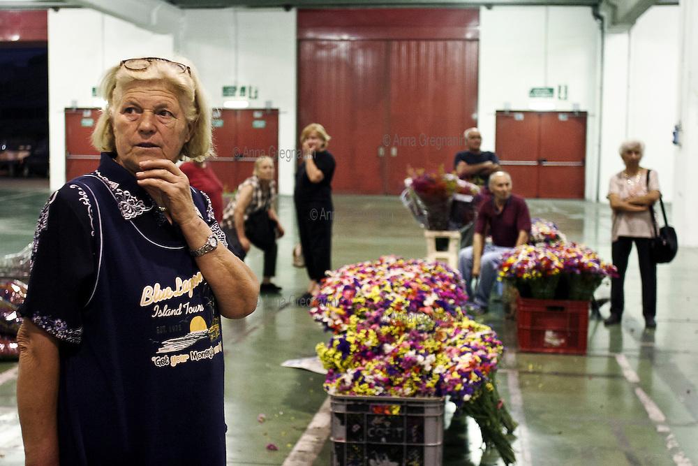 Il Mercato dei fiori di Sanremo *** Local Caption ***