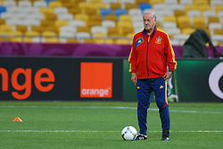 30.06.2012, Olympia Stadion, Kiew, UKR, UEFA EURO 2012, Spanien, Training, im Bild TRENER VICENTE DEL BOSQUE (ESP) // during the EURO 2012 Trainingssession of Spanish national team, at the Olympic Stadium, Kiev, Ukraine on 2012/06/30. EXPA Pictures © 2012, PhotoCredit: EXPA/ Newspix/ Tomasz Jastrzebowski..***** ATTENTION - for AUT, SLO, CRO, SRB, SUI and SWE only *****