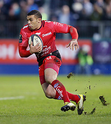 Toulon's Bryan Habana during the European Champions Cup, pool five match at the Recreation Ground, Bath.