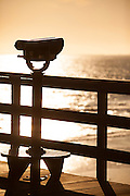 Telescope On The Seal Beach Pier