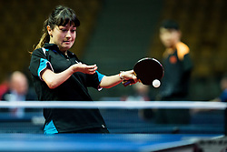 Lytovchenko Maryna of Ukraine plays final match during Day 4 of SPINT 2018 - World Para Table Tennis Championships, on October 20, 2018, in Arena Zlatorog, Celje, Slovenia. Photo by Vid Ponikvar / Sportida
