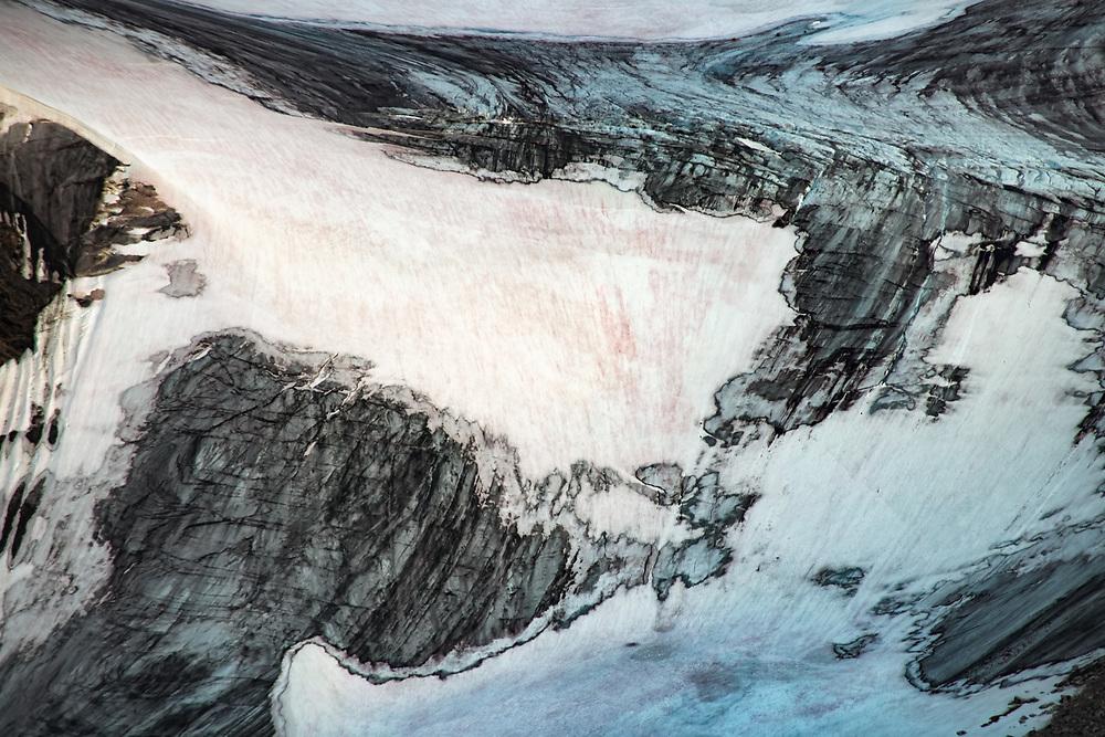 Inland glaciers of Nugssuaq Peninsula, Greenland