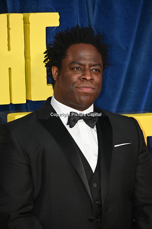 """Director Jeymes Samuel attended """"The Harder They Fall"""" Opening Night Gala - 65th BFI London Film Festival, Southbank Centre, London, UK. 6 October 2021."""