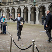 NLD/Den Haag/20180831 - Willem-Alexander en Maxima bij afscheid vice-president Raad van State, minister president Mark Rutte