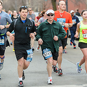WASHINGTON, DC - March 15th, 2014 - Runners compete during the 2014 Rock 'n' Roll USA Marathon & CareFirst BlueCross BlueShield Rock 'n' Roll USA 1/2 Marathon race weekend in Washington, D.C. (Photo by Kyle Gustafson)