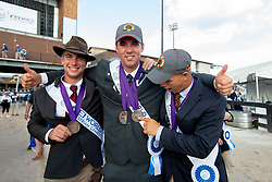 Degrieck Dries, Simonet Edouard, Geerts Glenn, BEL, <br /> World Equestrian Games - Tryon 2018<br /> © Hippo Foto - Sharon Vandeput<br /> 23/09/2018