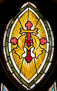 Old St Mary SF  Paulist Fathers stain glass