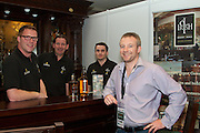 A stimulating Business Diary Date: 29th September to 1st October, Burlington Hotel Dublin – Irish Pubs Global Gathering Event.<br /><br />Pictured at the event- <br /> Eamonn Cullen, John Heverin, John Mahony and Conchur de Barra who has pubs in Brussels and Haiti <br />•                     21 Countries represented<br />•                     Over 600 Irish Pub Enterprises from around the world<br />•                     The growth of Craft Beers<br />•                     Industry Experts<br />•                     Bord Bia – an export opportunity<br />•                     Transforming a Wet Pub into a Gastro Pub<br />We love our Irish pubs but we of course have seen an indigineous decline resulting in closures nationwide in recent years.<br />Not such a picture worldwide where the Irish pub is a growing business success story.<br />Hence a global event and webcast in Dublin next week, called Irish Pubs Global Gathering Event  in the Burlington Hotel, Dublin, on September 29 to October 1st,backed by LVA and VFI.<br />Spurred on by The Irish Diaspora Global Forum in Dublin Castle 2 years ago, Irish entrepreneur Enda O Coineen has spearheaded www.irishpubsglobal.com into a global network with 20 chapters around the world and a database of over 4,000 REAL Irish pubs.<br />It promises to be a stimulating conference, with speakers bringing a worldwide perspective to the event. The Irish Pubs Global Gathering Event is a unique networking, learning and social gathering. A dynamic three-day programme bringing together Irish Pub owners & managers from all over the world and will focus on 'The Next Generation' of Irish pubs.<br /> <br />Key Note Speakers available for Interview<br />1.       Paul Mangiamele, CEO Bennigans<br />2.      Dr. Pearse Lyons, CEO ALLTECH<br />3.      Enda O Coineen, President of Irish Pubs Global<br />4.      Kingsley Aikins, CEO of Diaspora Matters<br /> Paul Mangiamele, CEO Bennigans<br />Paul M. Mangiamele is a veteran restaurant and retailing 