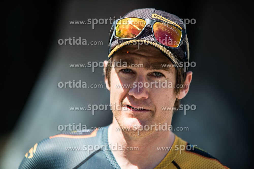 Benjamin Hill (AUS) of Ljubljana Gusto Santic during 2nd Stage of 26th Tour of Slovenia 2019 cycling race between Maribor and Celje (146,3 km), on June 20, 2019 in  Slovenia. Photo by Peter Podobnik / Sportida