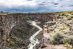 Malad Gorge in the Haggerman Valley in South Central Idaho. Oddly enough Malad River and Gorge and Malad Idaho are separated by one hundred and seventy miles.