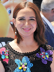 """Maya Rudolph arrives at """"The Emoji Movie"""" Los Angeles Premiere held at Regency Village Theatre in Westwood, CA on Sunday, July 23, 2017. (Photo By Sthanlee B. Mirador) *** Please Use Credit from Credit Field ***"""